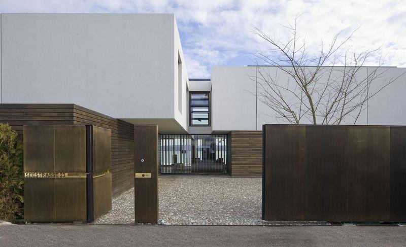 Moderne einfahrten einfamilienhaus  Haus TG | Einfahrt, Moderne häuser und Häuschen