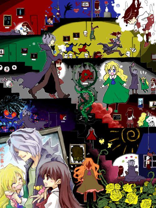 Ib Guertena's Museum | Nerdy Geekery | Horror video games