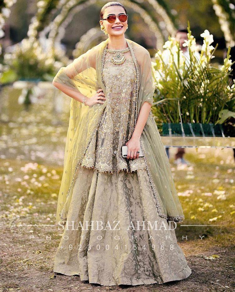 Pakistani Couture Dresses Indian Muslim Women Fashion Ladies Wedding Wear Walima Fairytale Weddings Bridal