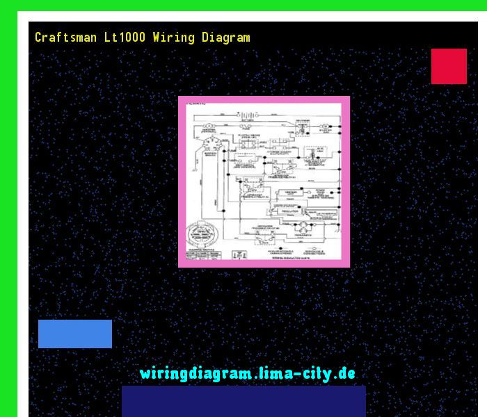 Craftsman Lt1000 Wiring Diagram Wiring Diagram 174915 Amazing Wiring Diagram Collection Diagram Wire Craftsman