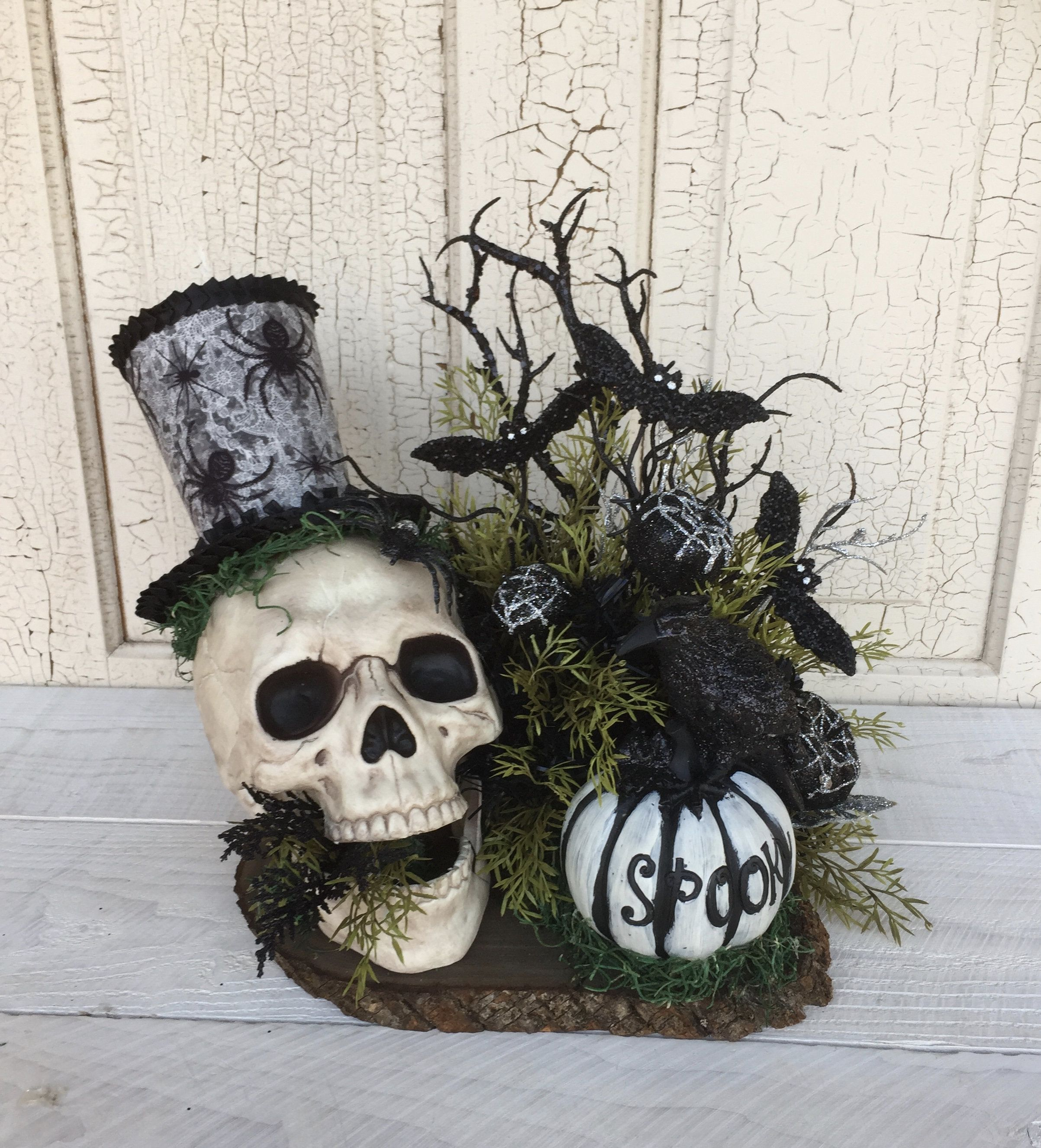 Halloween Centerpiece Halloween Decor For Table Halloween