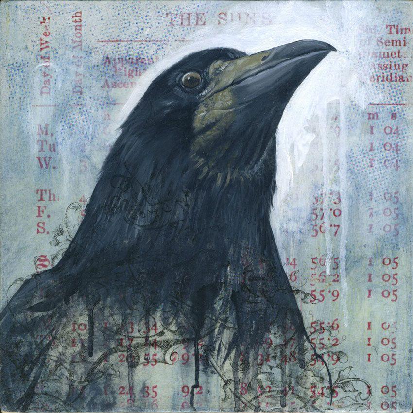 Bryan Holland - stonehenge : oil + mixed media on cradled panel