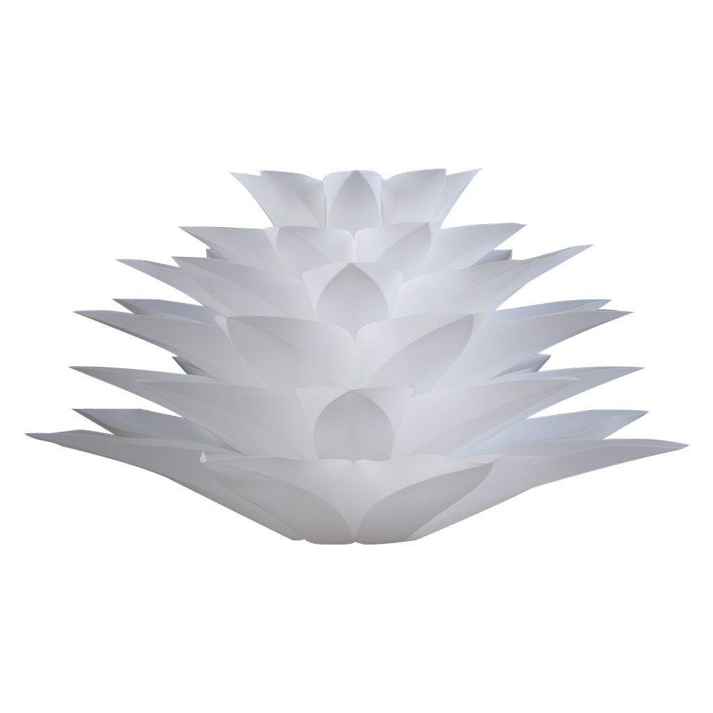 Amazoncom Excelvan Ceiling Pendant Diy Iq Jigsaw Puzzle Lotus