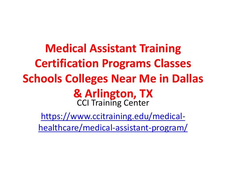 How to a certified medical assistant join cci