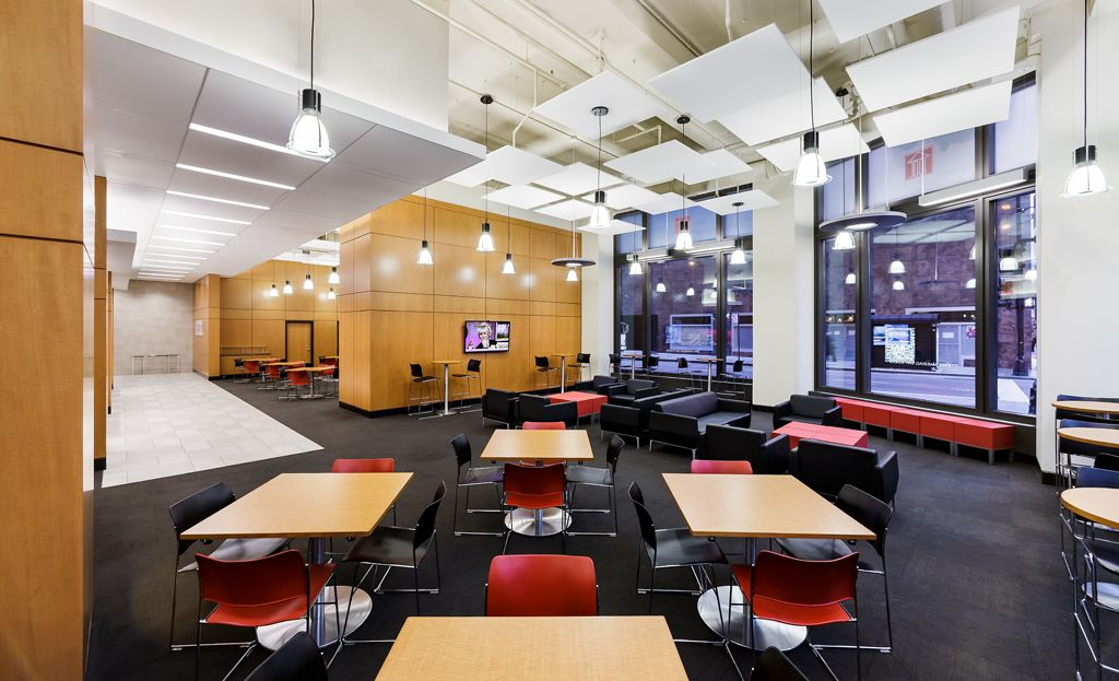 Nice Renovated Interior Space At The John Marshall Law School Selected Among  Best 2013 School Design Projects