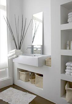 moderne badezimmer ideen - coole badezimmermöbel | badezimmer, Hause ideen