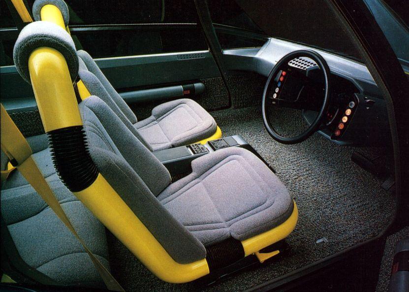 Toyota CX-80 Concept, 1979 - Interior