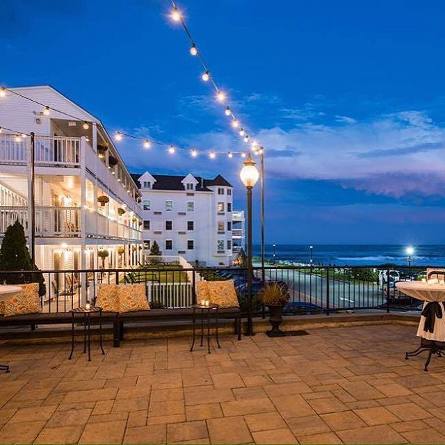 Enjoy The Spectacular View From Union Bluff Hotel On Oceanfront At York Beach