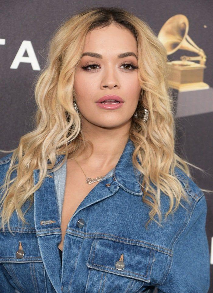 Photo of Fail or Win? Rita Ora Loves Sergio Rossi's Ultra-Glam 'Karen' Silver-Tone Sandals