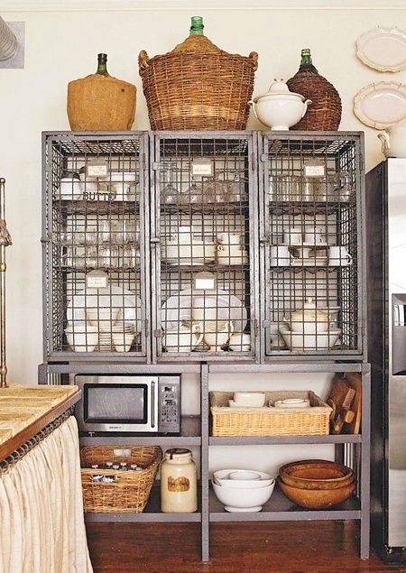 Rustic Kitchen Rustic Interiors Industrial Color Palette