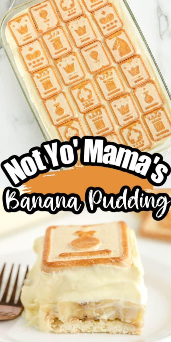 Not Yo' Mama's Banana Pudding (or Chessman Banana Pudding ...