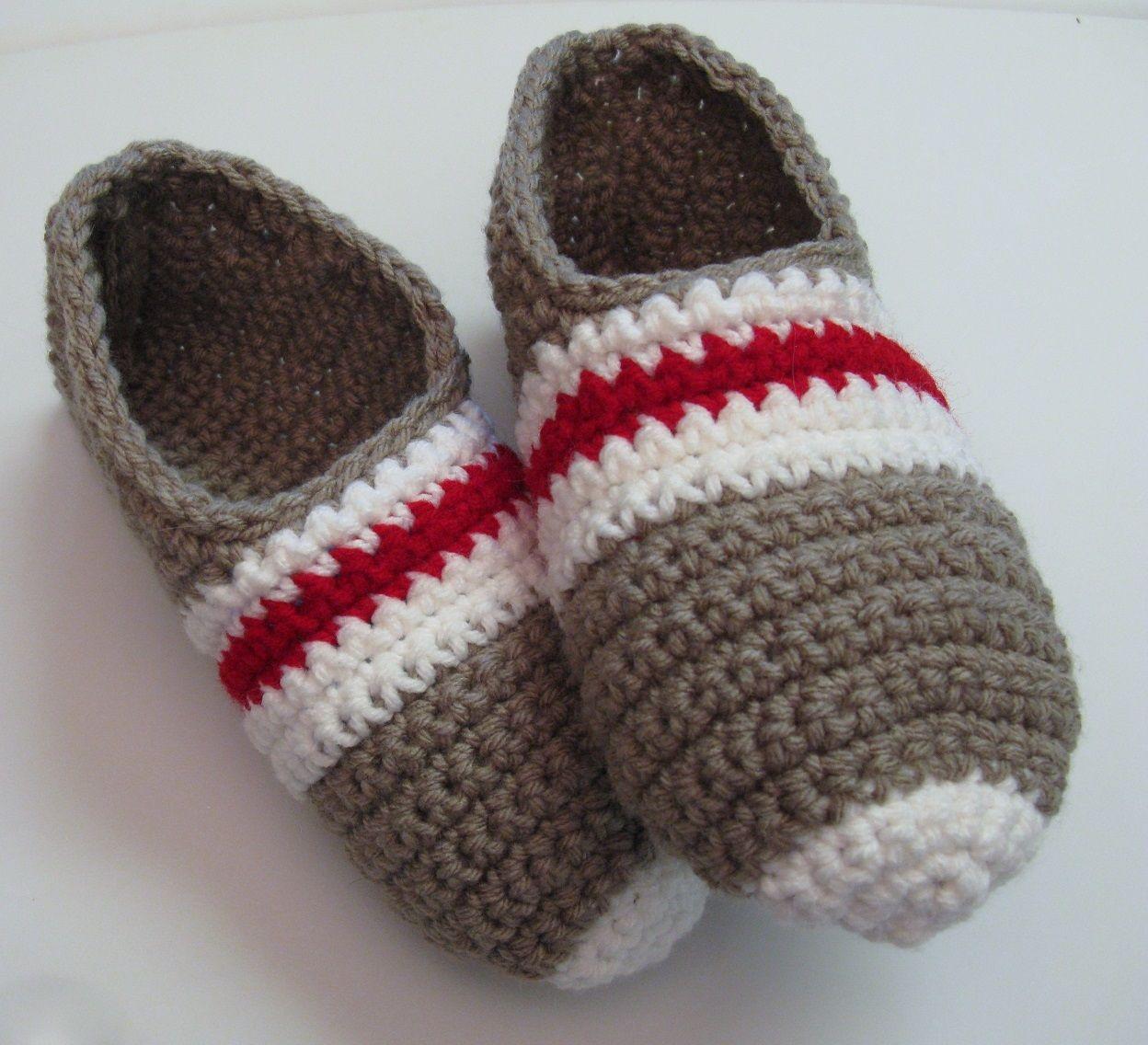 a9c243c273f8b Pantoufles bas de laine au crochet pour femme Chaussettes Basses