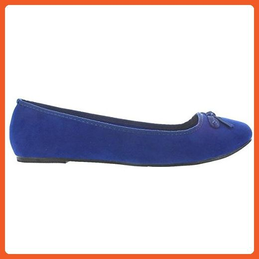 Ballerina Shoes 10 M Us Flats For Women's Flat blue Rialto Wanted 80wmnvN