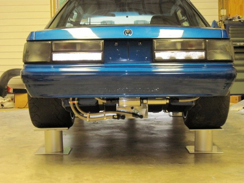 Foxbody Mustang Tubbed And Stuffed With Rubber Ford Mustang Car