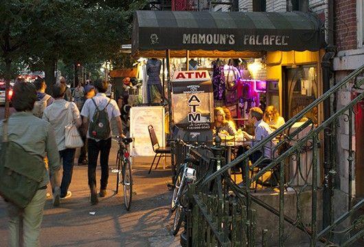 Restaurant Mamoun S Falafel 22 St Marks Place New York Ny 10003
