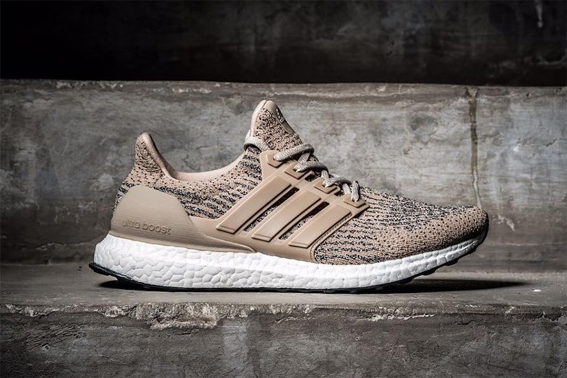 bbd8624a0d adidas Ultra Boost 3.0 in Brown Mauve and Tan
