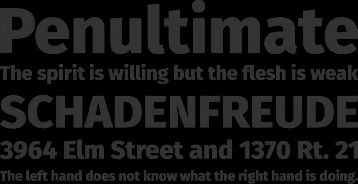 Fira Sans Font Phrases   1a  Typefaces   Pinterest   Fonts