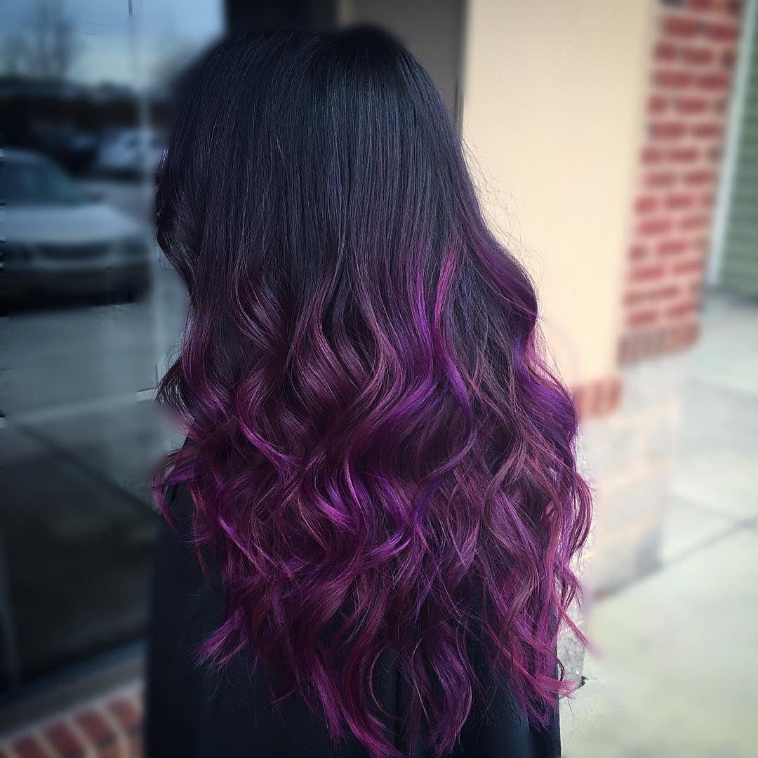 purple haze manic panic hair beauty pinterest haar ideen lila haare und ombr haare. Black Bedroom Furniture Sets. Home Design Ideas