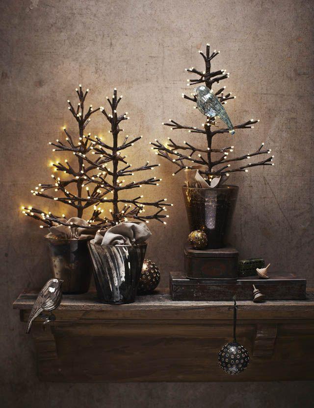 Arboles de navidad peque os y elegantes christmas deco - Arboles de navidad elegantes ...