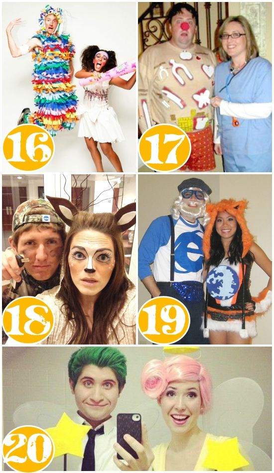 25 Quick Costume Ideas for Couples Pinterest Easy couples - quick halloween costumes ideas