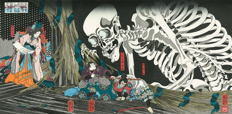 相馬の古内裏|歌川国芳|浮世絵のアダチ版画オンラインストア