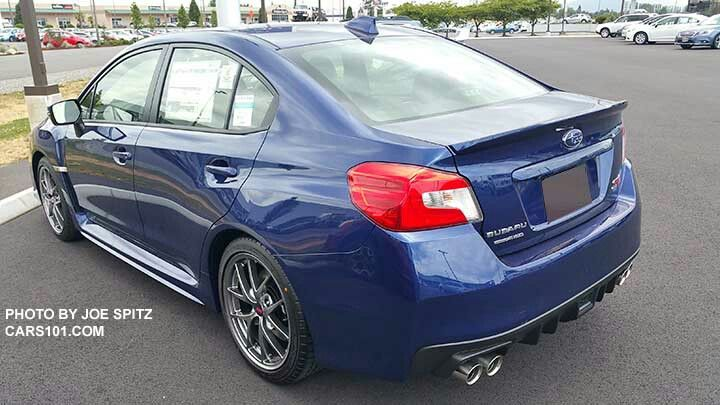 2016 Sti Lapis Blue 2017 Wrx Subaru Colors