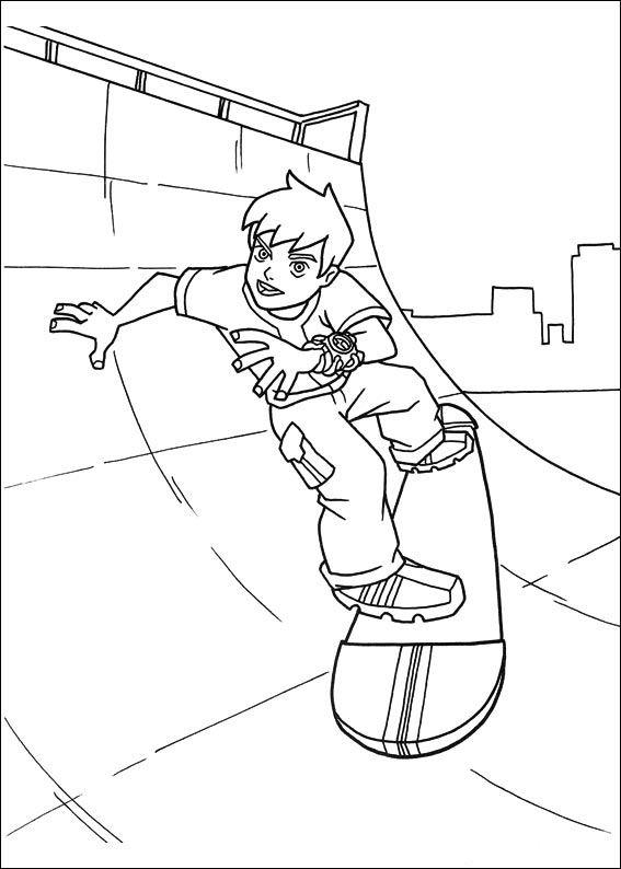 Printable Coloring Book For Kids 21 Coloriage Dessins A Imprimer Et La Couleur En Ligne Ben 10