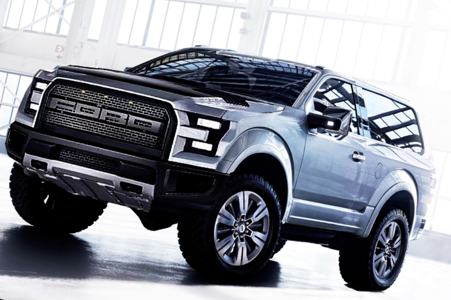 2016 Ford Svt Bronco Raptor Concept Trucks Pickup Trucks In
