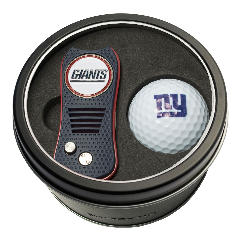 Team Golf New York Giants Switchfix Divot Tool Golf Ball Set York Giants Team Golf Team Golf