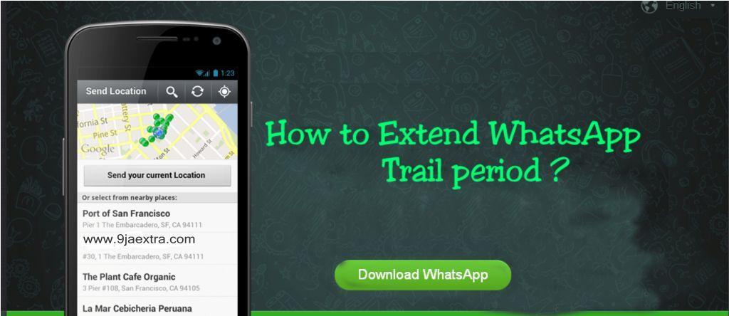 how to make whatsapp access lifetime free