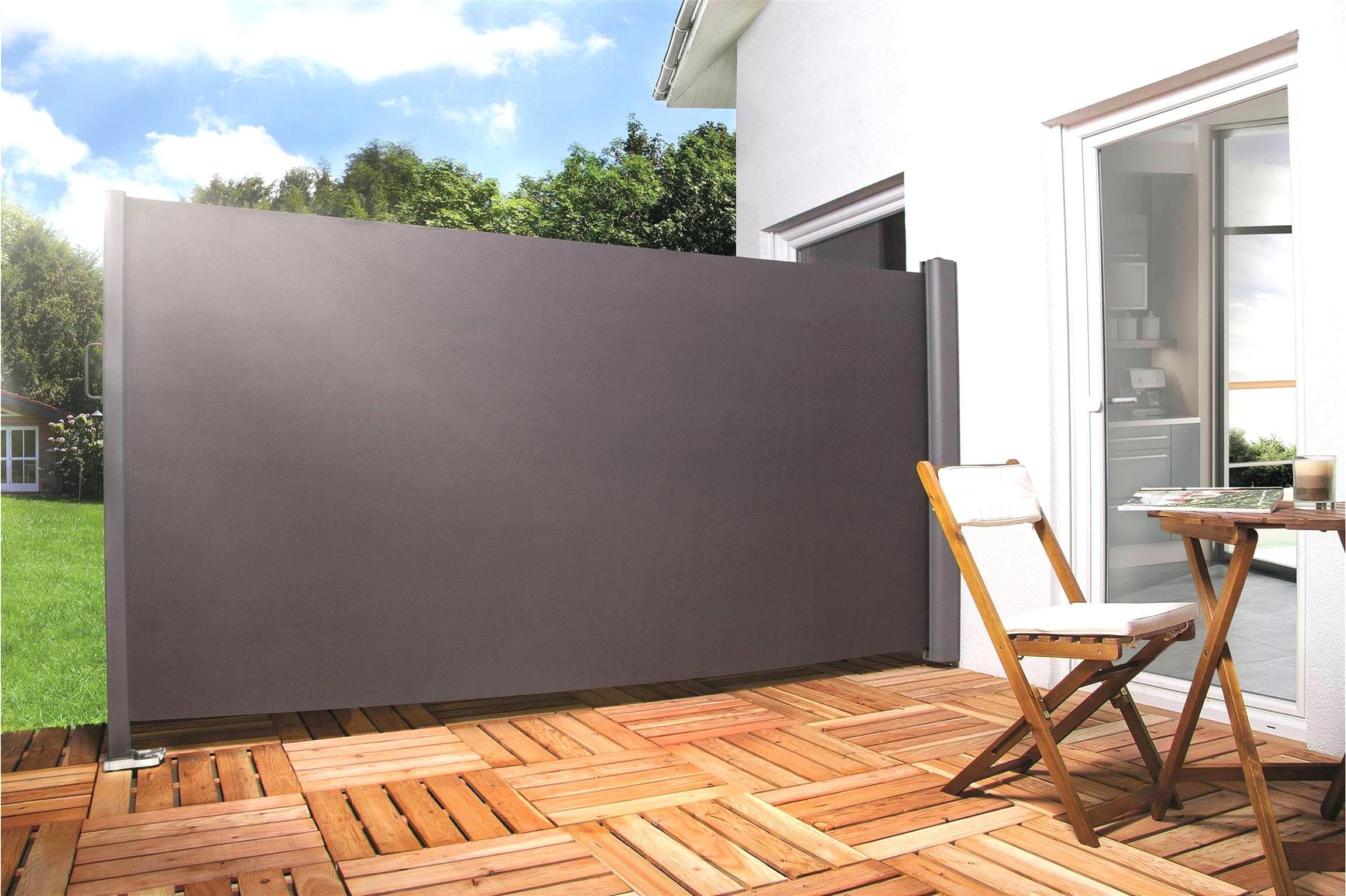 Frisch 45 Zum Sichtschutz Holz Bauhaus Terrasse Jardin Brise Vue Toile Terrasse