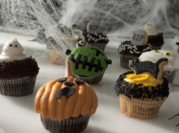 Scarily Awesome Halloween Cupcakes from Crumbs