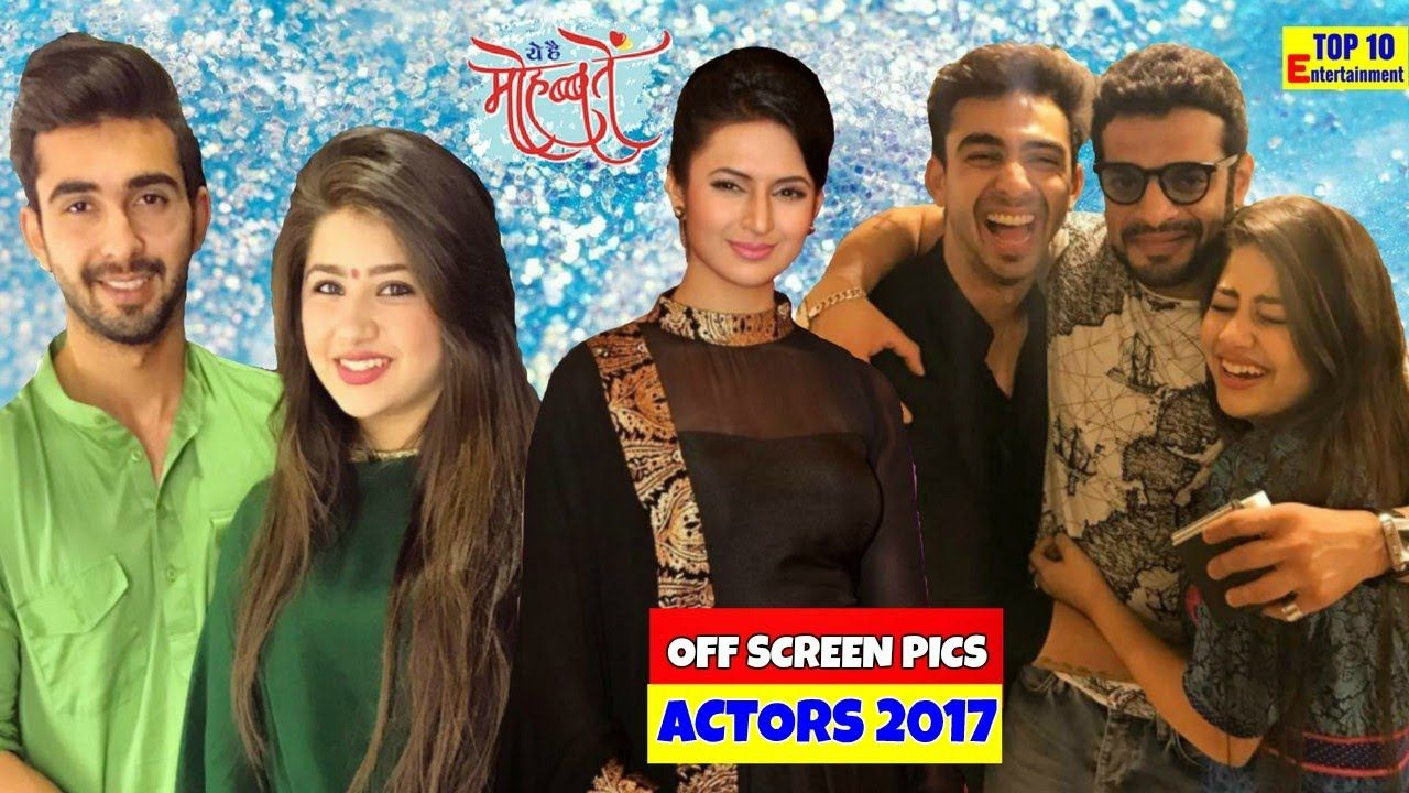 Yeh hai mohabbatein Actors Ishita Raman Off screen pics ...