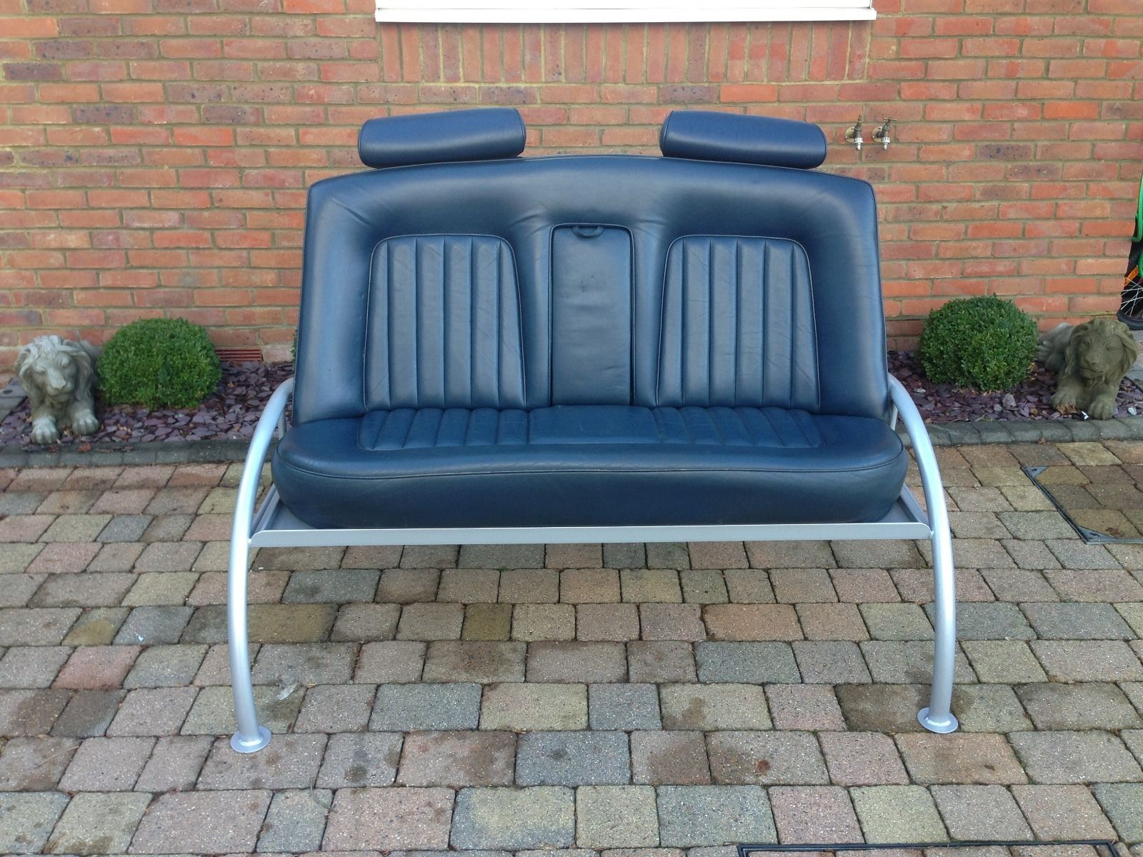 Auto Couch Top Gear Sofa Seat Chair Classic Car Showroom Or Mancave Rolls