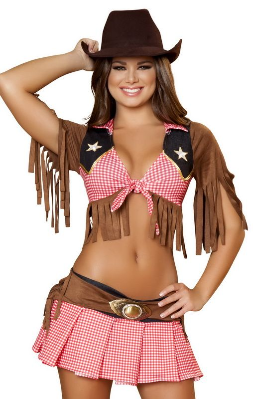 Sexy halloween costumes cowgirl