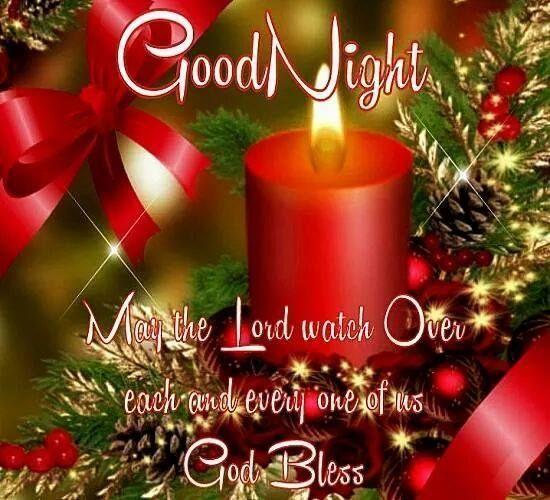 Good Night Christmas – Sognando i Sogni… | Good night | Pinterest ...