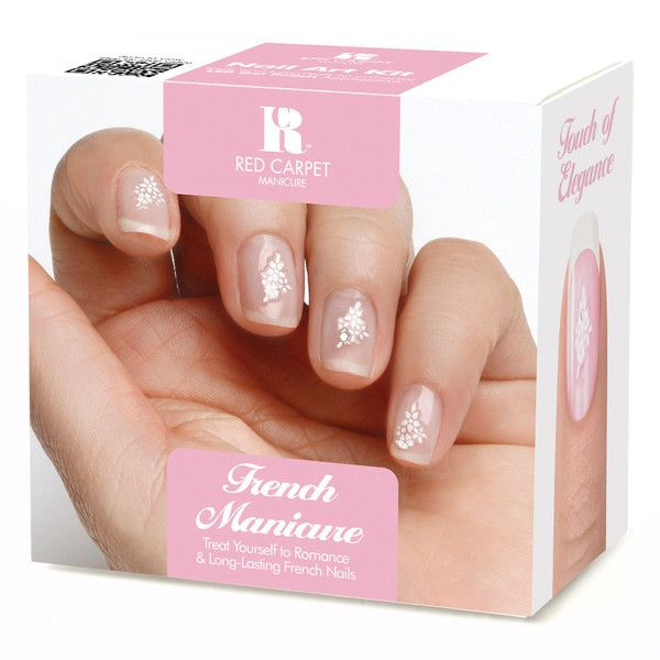 Red Carpet Manicure French Manicure Kit ($55) ❤ liked on Polyvore ...