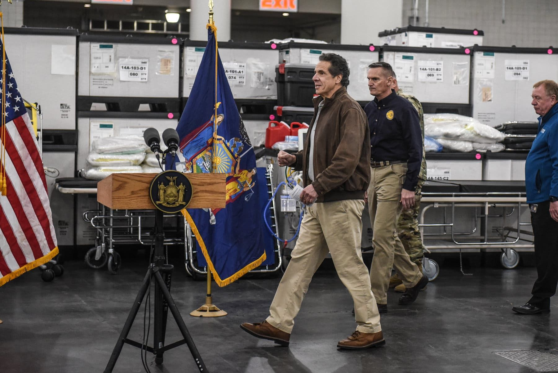 How Cuomo Once On Sidelines Became The Politician Of The Moment In 2020 Andrew Cuomo Ny Times Governor