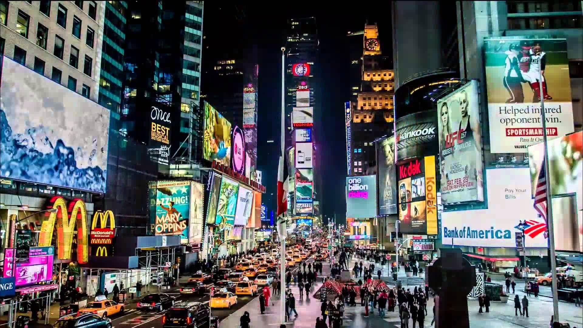 New York Times Square Time Lapse Night Shot Times Square New York Times Square Streaming Movies