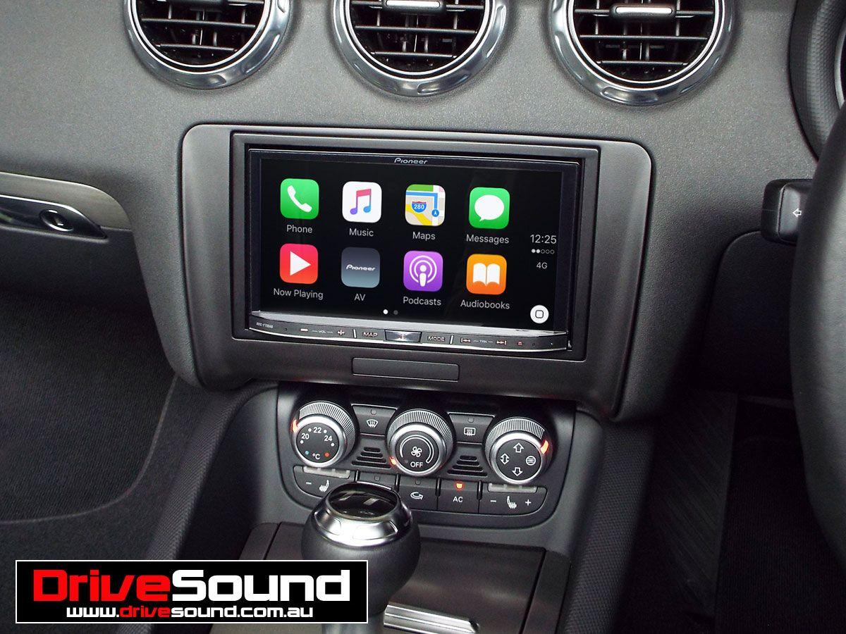 Audi Tt With Carplay Installed By Drivesound Apple Carplay Audi
