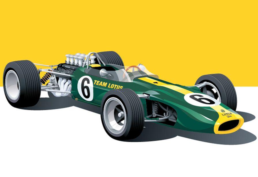 Classic Motorsport Art Of Arthur Schening Classic