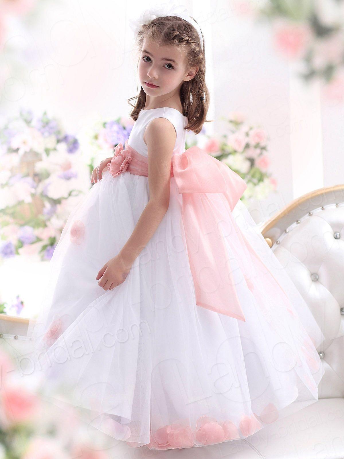 1000  images about Flower Girl on Pinterest - Taffeta dress- Satin ...