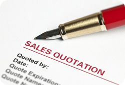 How To Write A Short Quote Or Bid Proposal  Shortest Quotes