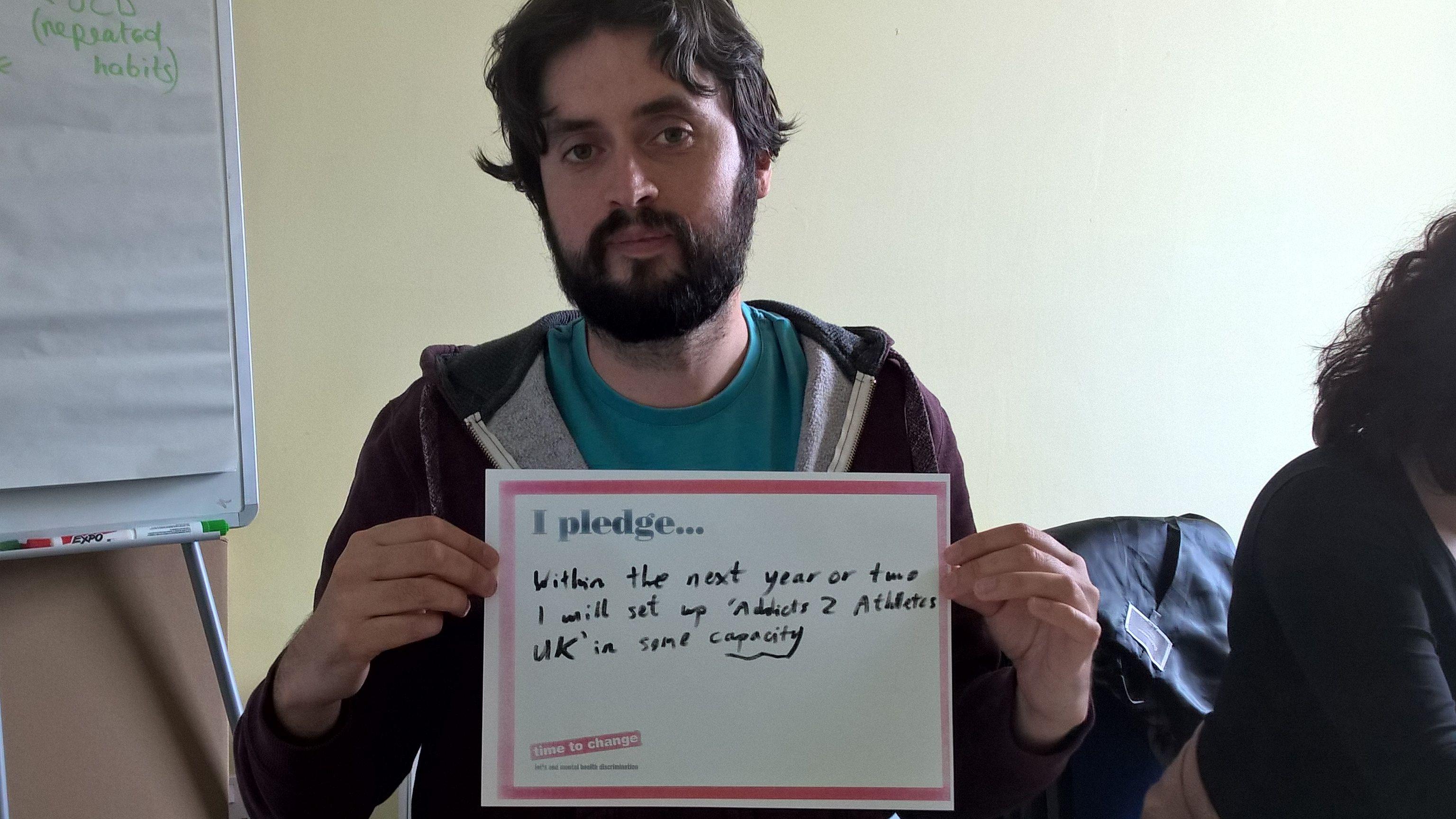 Dave's Pledge