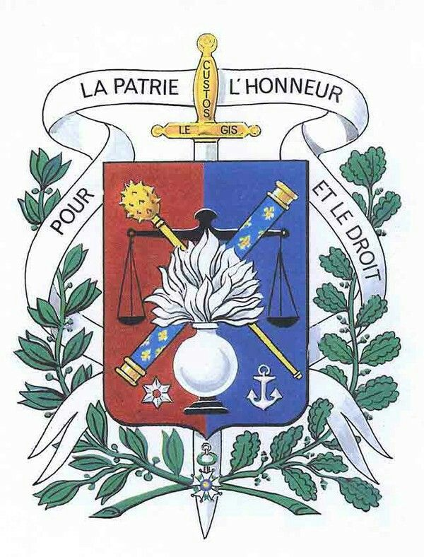 Pour La Patrie L Honneur Et Le Droit : patrie, honneur, droit, GENDARME, NATIONALE, Française., Patrie,, L'honneur, Droit., Gendarmerie, Française,, Nationale,, Gendarme