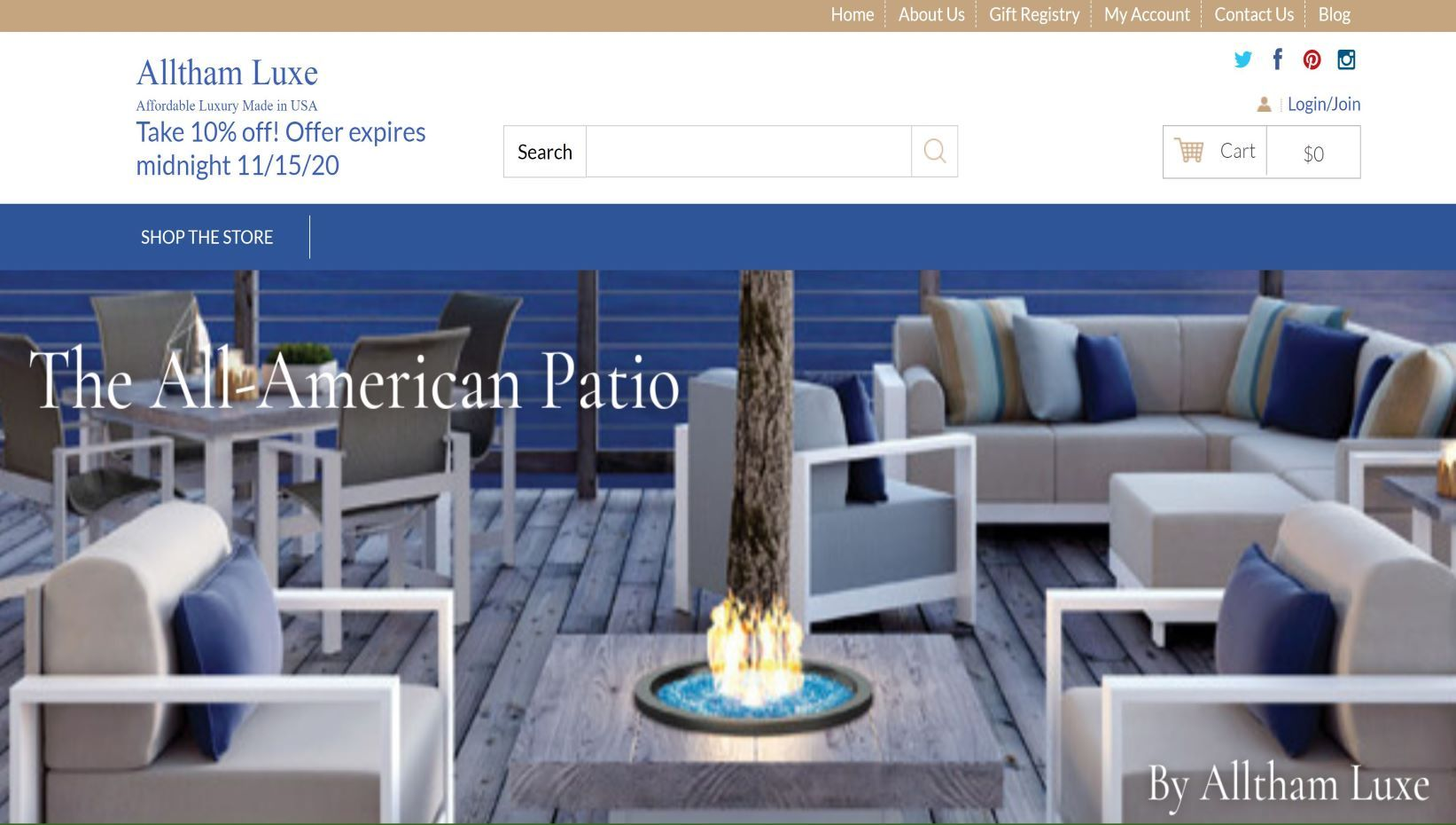 the all american patio by alltham luxe