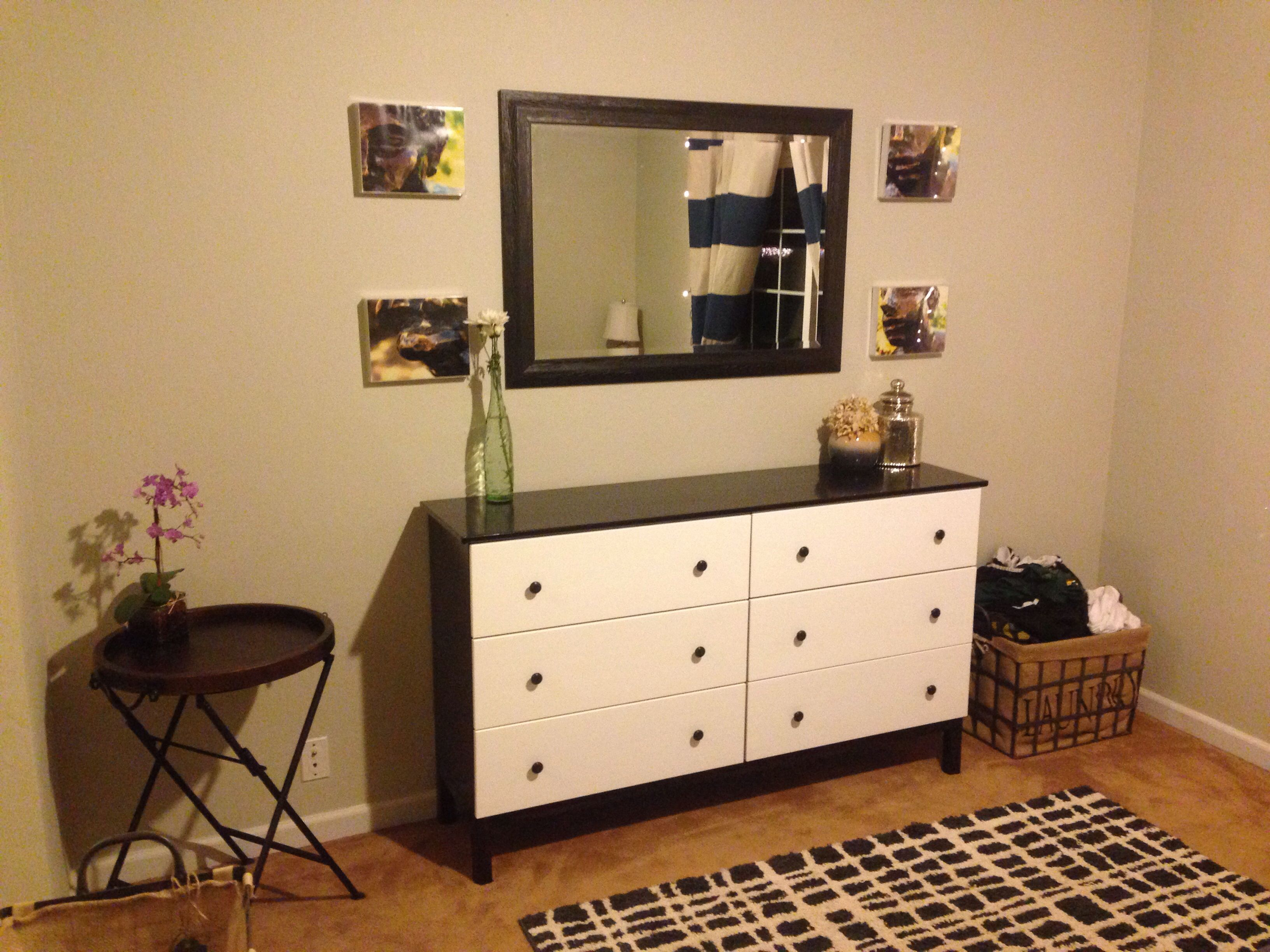 Ikea Küchenbuffet ~ Ikea tarva hack! this is our redone bedroom and i love it! also