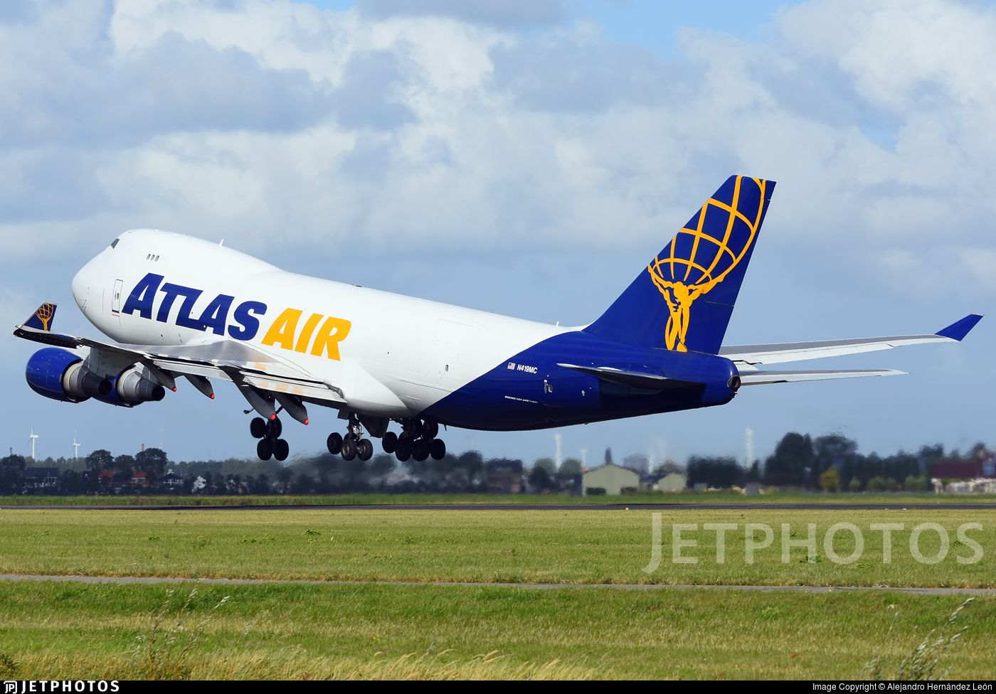Airline Atlas Air (leased from Bank of China