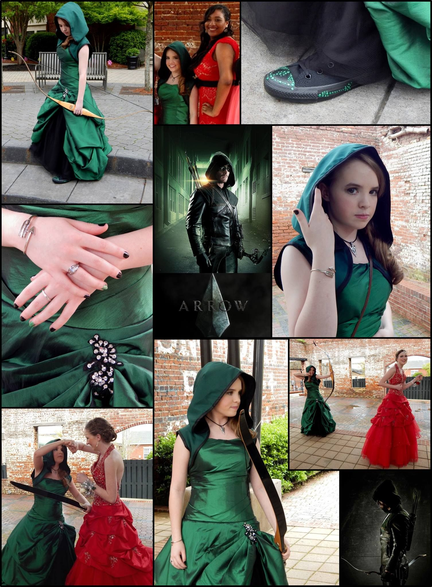 arrow prom dress so awesome! Totally doing something like this for prom  next year!