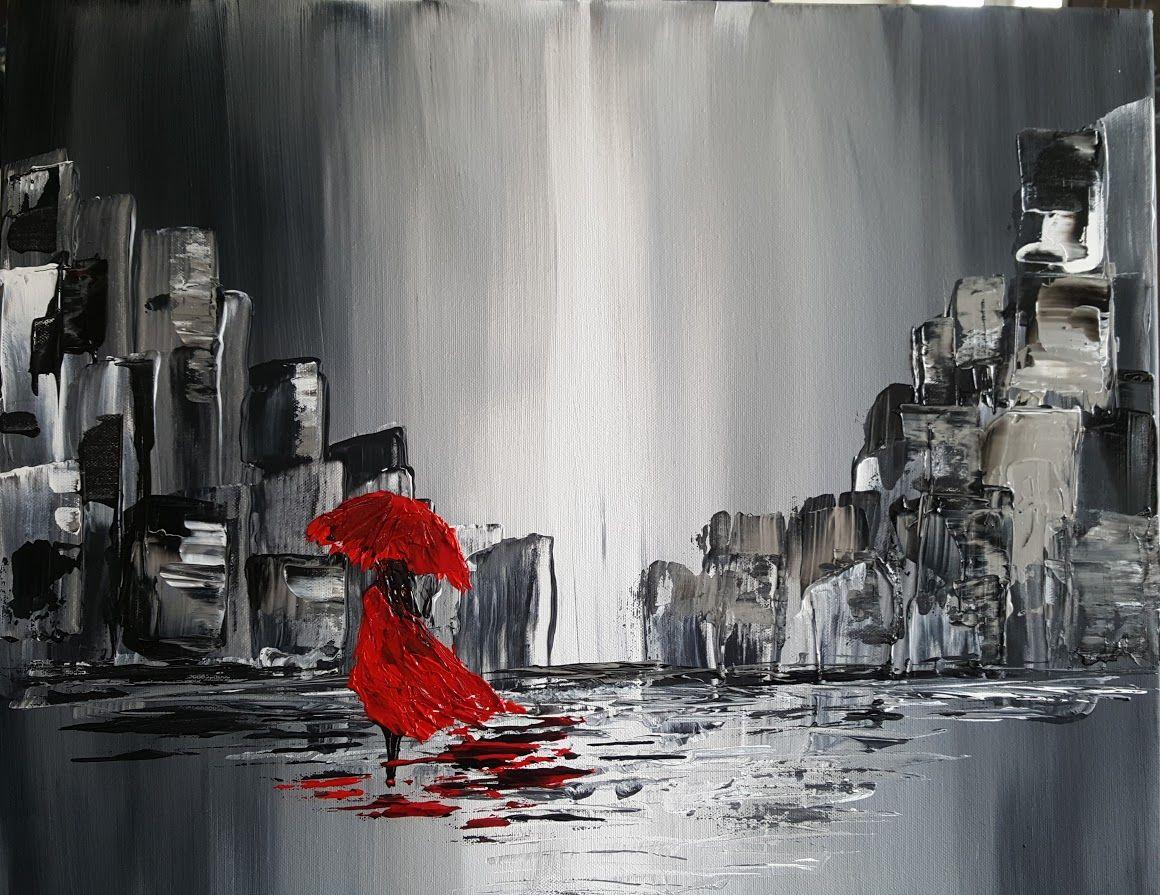 redgirl gauchepatte art peinture acrylique pinterest peinture acrylique fonds d 39 cran. Black Bedroom Furniture Sets. Home Design Ideas